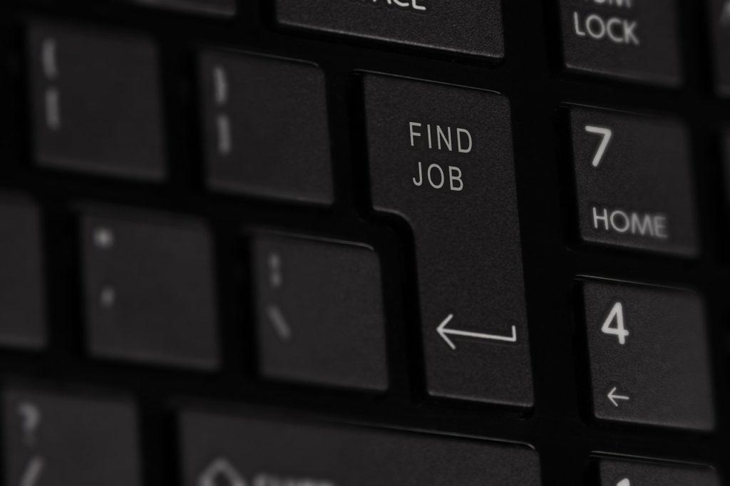 Encontrar trabajo teclado