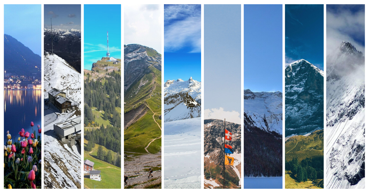 10 Most Magnificent Mountains in Switzerland